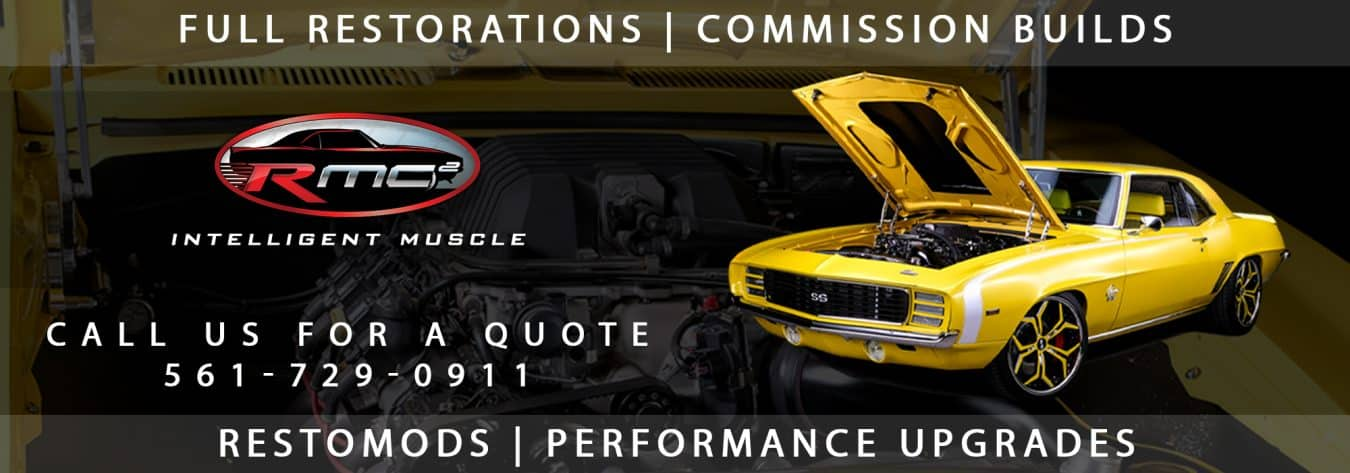 Custom Car Shop in Jupiter Florida | Resurrection Muscle Cars