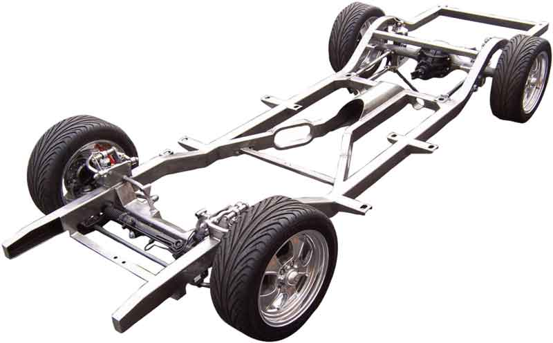 car's chassis